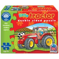 Orchard Toys Puzzle fata verso - Tractor 12 piese
