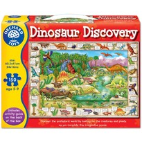 Orchard Toys Puzzle in limba engleza - Lumea dinozaurilor 150 piese