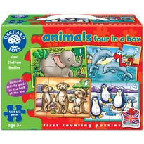 Set 4 Puzzle - Animale