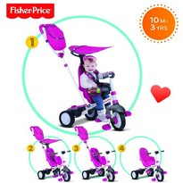 Fisher-Price Tricicleta 3 in 1 Charisma Roz