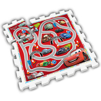 Stamp Puzzle Play mat - Cars