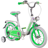 Bicicleta copii pliabila - Lambrettina green 14