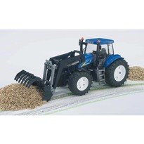 Bruder Tractor New Holland T8040 cu incarcator