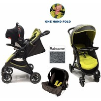 Graco Carucior Fast Action Fold 2 in 1 - TS Sport Lime