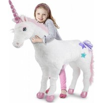 Melissa & Doug Unicorn gigant din plus