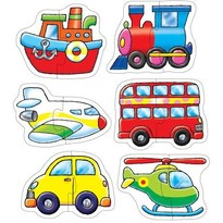 Orchard Toys Set 6 puzzle - Transport (2 piese)