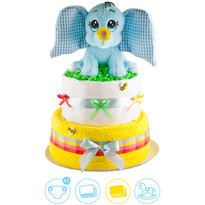 Tort din scutece Pampers Dumbo