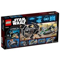 LEGO ® TIE Advanced al lui Vader contra A-Wing Starfighter