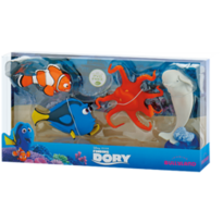 Bullyland Set Dory+Hank+Bailey+Marlin - Finding Dory