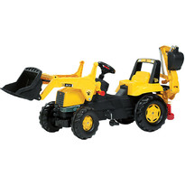 Rolly Toys Tractor Cu Pedale Copii Galben
