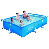 Bestway Piscina Deluxe Steel Splash Jr. Pro