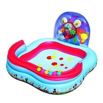 Bestway Piscina gonflabila de joaca Mickey Mouse Clubhouse