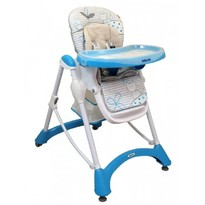 Baby Mix Scaun de masa Hungry Cats - Blue
