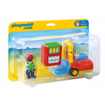 Playmobil 1.2.3. Stivuitor