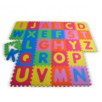 Knorrtoys Covor puzzle din spuma Alphabet 26 piese