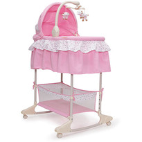 Leagan cu landou 3 in 1 Bassinet Nap Pink