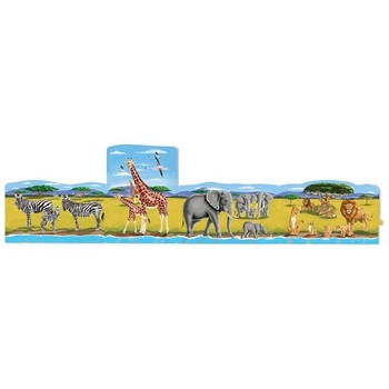 Melissa & Doug Set 4 puzzle podea conectabile Safari