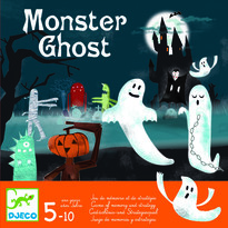 Djeco Joc de memorie si strategie Monster Ghost
