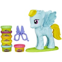 Hasbro Set de Plastilina Play-Doh Salonul lui Raindow Dash