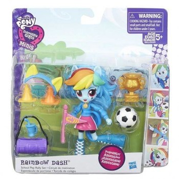 Hasbro Set My Little Pony Rainbow Dash si Spiritul Scolar
