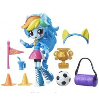 Set My Little Pony Rainbow Dash si Spiritul Scolar