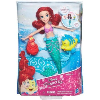 Hasbro Papusa Disney Princess Ariel Spin and Swim