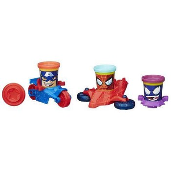 Hasbro Plastilina Play-Doh Marvel Can-Heads Vehicle