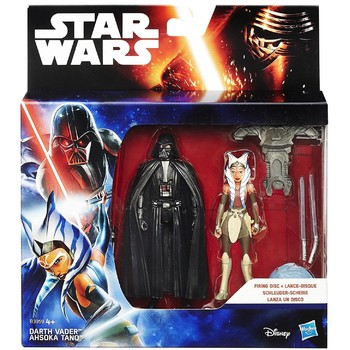 Hasbro Star Wars - Figurine Darth Vader si Ahsoka Tano