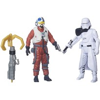 Hasbro Star Wars - Figurine First Mate Snap Wexley si Snowtrooper