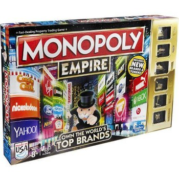 Hasbro Joc de Societate Monopoly Empire Top Brands