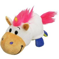 Jay At Play Mascota FlipaZoo 32 cm - Unicorn si Dragon