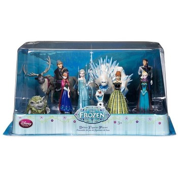 Disney Set 10 de figurine Frozen Deluxe