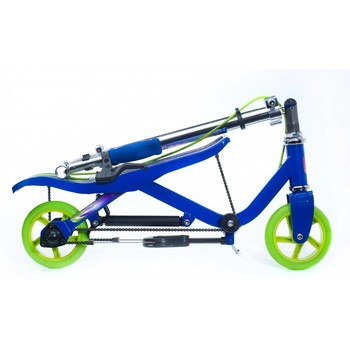 SPACESCOOTER Trotineta Space Scooter  X360 Series, Junior, Albastru
