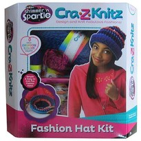Cra-Z-Art Set de Crosetat Ultimate Designer Cra-Z-Knitz Caciula