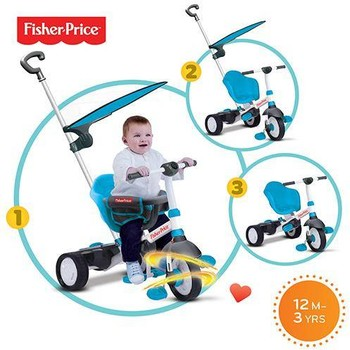 Fisher-Price Tricicleta 3 in 1 Charm Plus Albastra