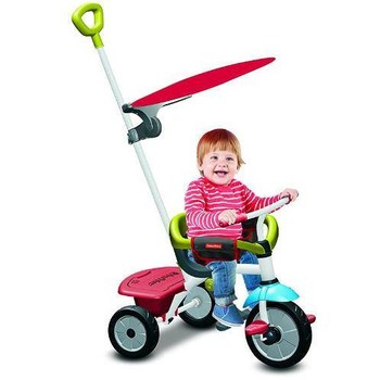 Fisher-Price Tricicleta 3 in 1 Jolly Plus Rosu