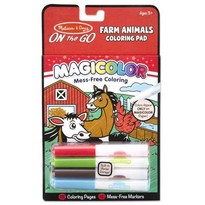 "Carnetel de colorat Magicolor ""Animale de la ferma"""