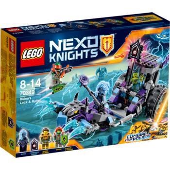 LEGO ® Nexo Knights - Masina Lock and Roller a Ruinei