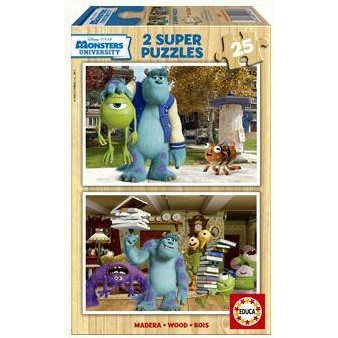 Educa Puzzle Monsters University 2x25 Piese