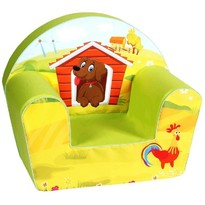Knorrtoys Fotoliu din burete Dog on a Farm