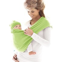 Marsupiu Sling Cotton Lily green