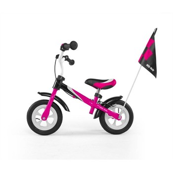 MillyMally Bicicleta fara pedale Dragon Deluxe pink