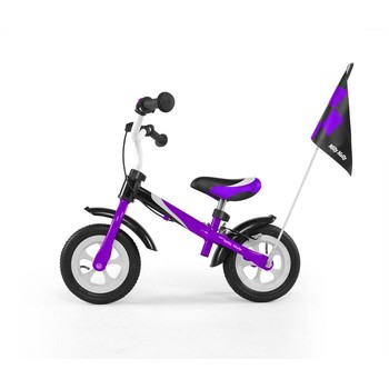MillyMally Bicicleta fara pedale Dragon Deluxe violet