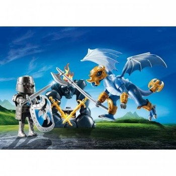Playmobil Set Portabil - Cavaleri Dragon