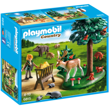 Playmobil Teren Impadurit si Animale