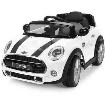 Chipolino Masinuta electrica  Mini Cooper Hatch white