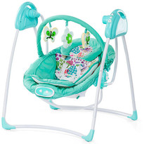 Chipolino Leagan electric si balansoar Paradise blue green