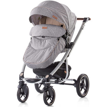 Chipolino Carucior Malta 3 in 1 light grey