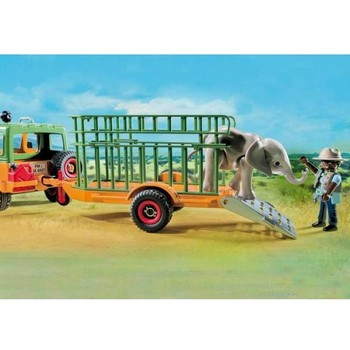 Playmobil Camion Forestier si Elefant