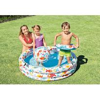 Intex Piscina copii Fishbowl cu colac si minge